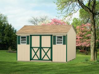full a-frame shed