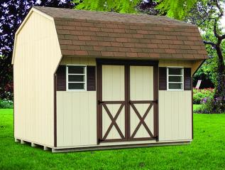 Colonial Wood Shed