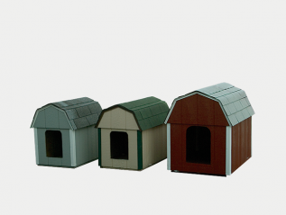 dog house - barn roof